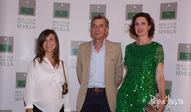 Los pintores, Inés Loring, Johnny Domínguez y Cristina Ybarra