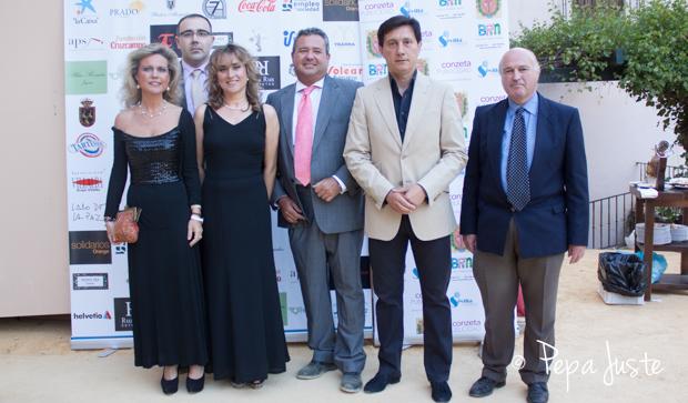 Mercedes Vazquez, José Javier Cano, Toña Gómez, Nicolás Valero, Antonio José Martín y Alvaro Vázquez