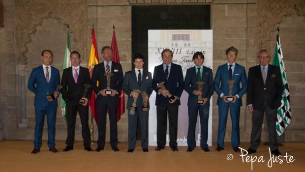 Los premiados del Trofeo Puerta del Principe