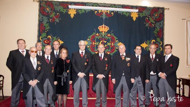 Foto de familia de los investidos