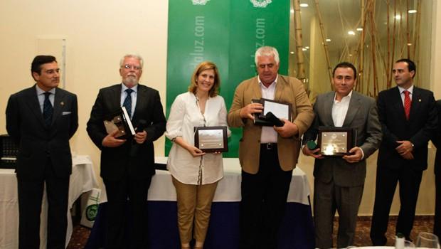 Jerónimo Cejudo,  Ricardo Serra Arias, Judit Anda, Miguel López y Agustín Rodríguez,