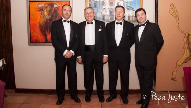 Manuel Mesa, Evaristo Ramos, Javier Carnerero y Paco Pérez