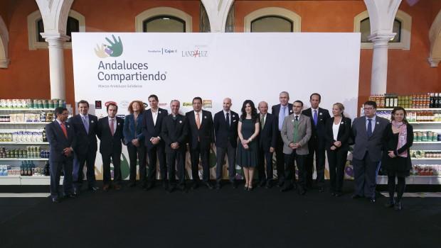 Foto de Familia Andaluces Compartiendo
