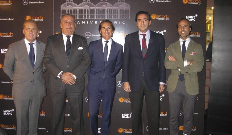 Nono Borrego, Ricardo Laguillo, Ricardo Pichardo, Manolo Julia y Miguel Pichardo