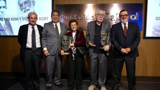 Ramón Vargas, Antonio Pulido, Adela Cortina, Aurelio Arteta y José Rodríguez de la Borbolla