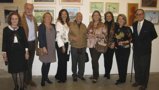 Pilar Blanco, Patricio Lastra, Pili Navarro, Ana Feu, Aurelio Delgado, Rocío Melgarejo, Carmen Schamann, Adriana Amate y Gregorio de Ybarra