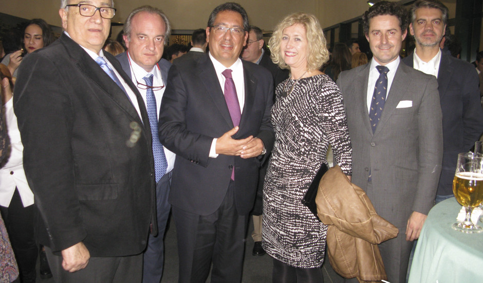 Guillermo Sierra, Miguel Angel Abad, Antonio Pulido María Dolores Oliver, Alberto de Leopoldo y Francisco Ruiz