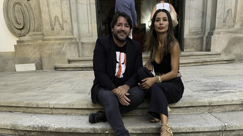 Los someliers Rafa Bellido y Monica Roson
