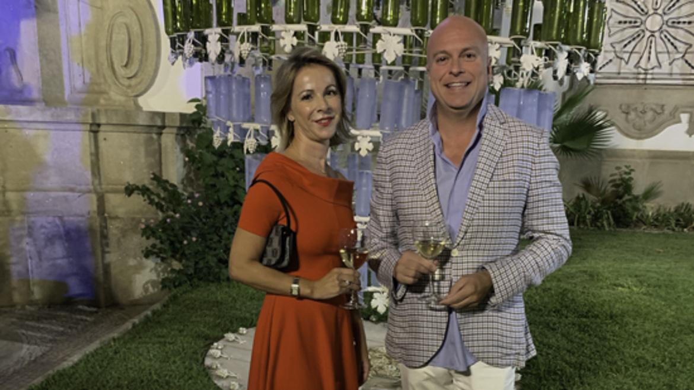 Paula Alcántara y David de Castro