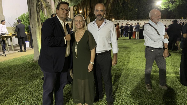 Gustavo de Medina, Ana María de Lara e Ignacio Bolaños